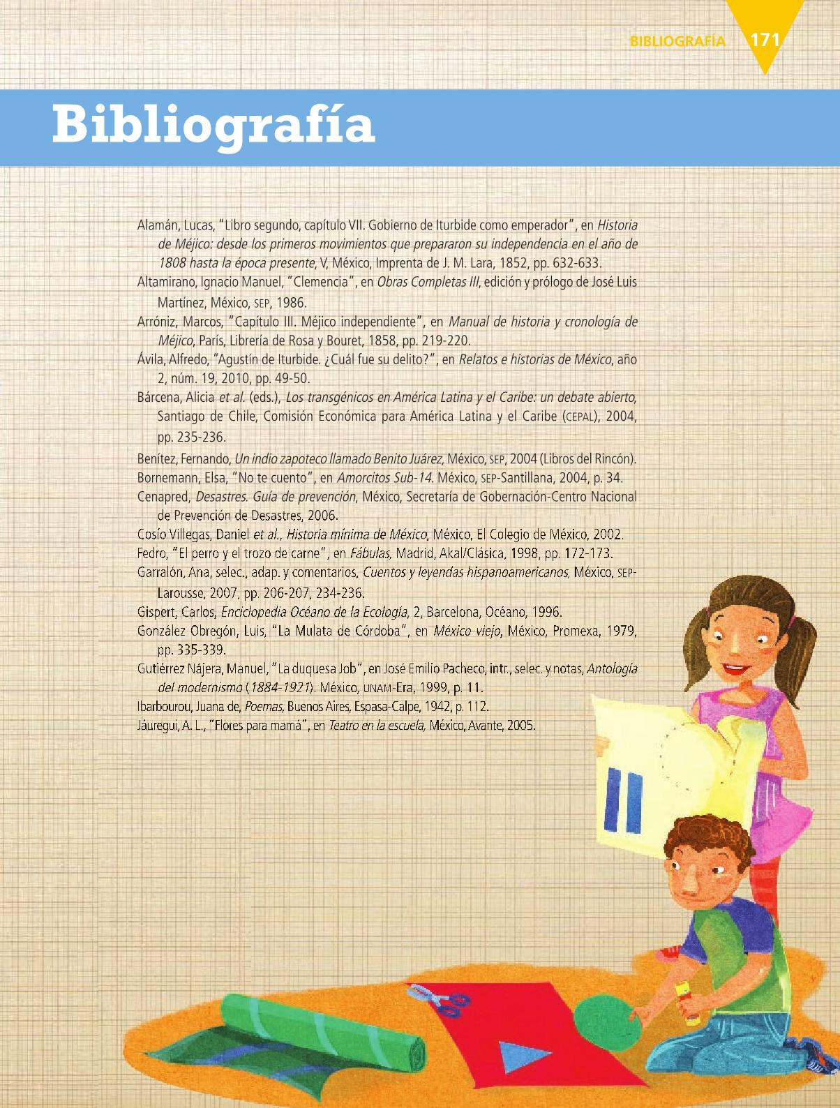 Español Libro para el alumnoquintoPagina 171