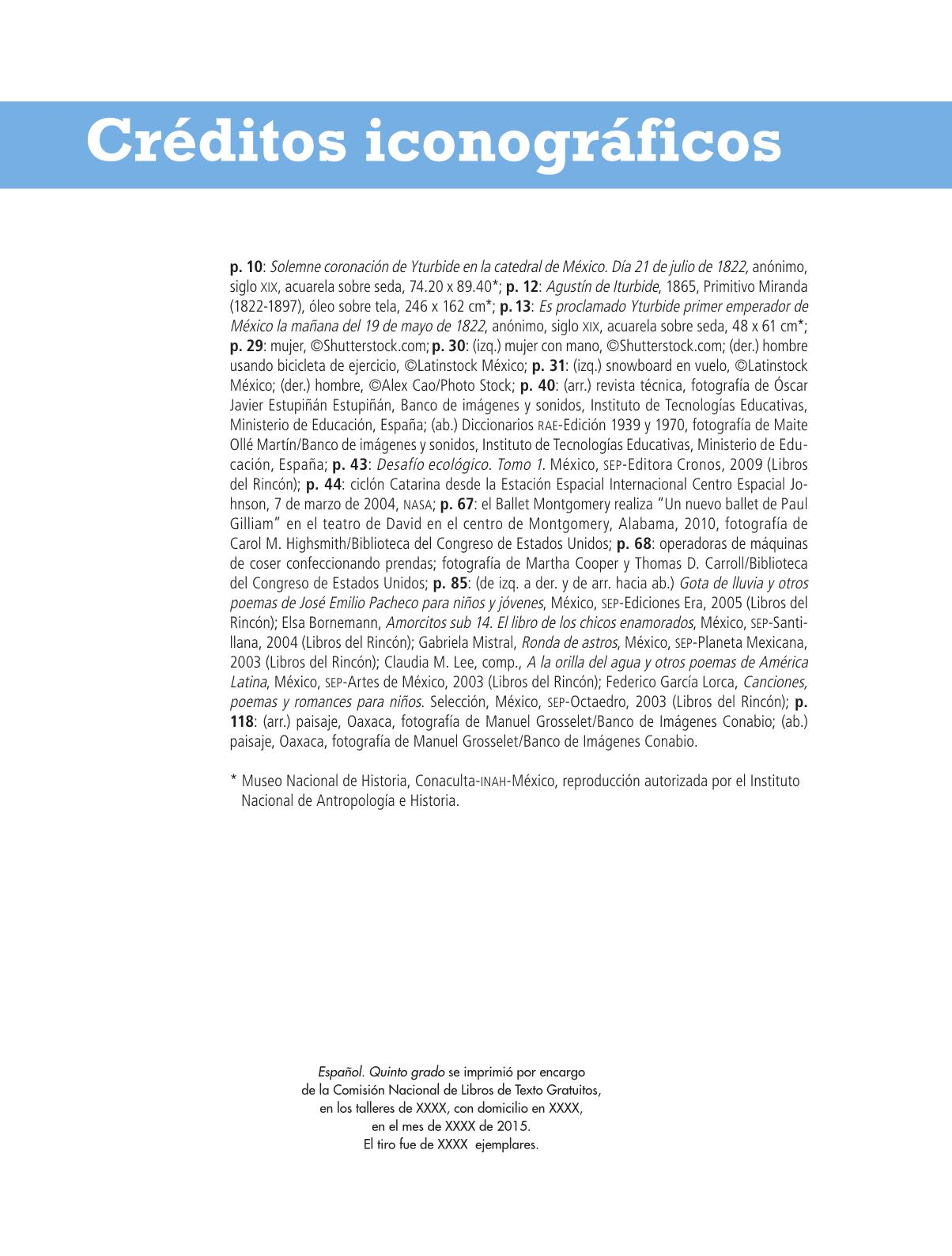 Español Libro para el alumnoquintoPagina 174