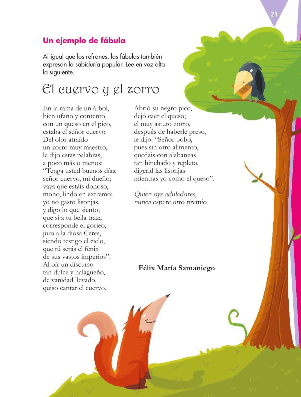 Español Libro para el alumnoquintoPagina 21
