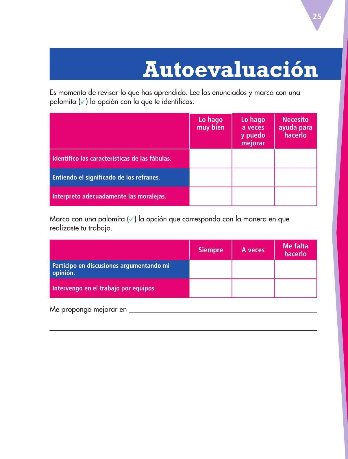 Español Libro para el alumnoquintoPagina 25
