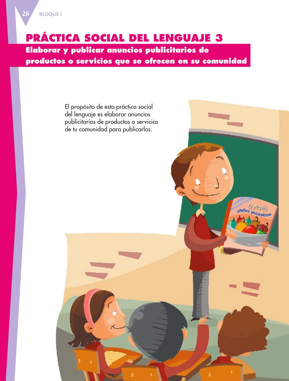 Español Libro para el alumnoquintoPagina 26