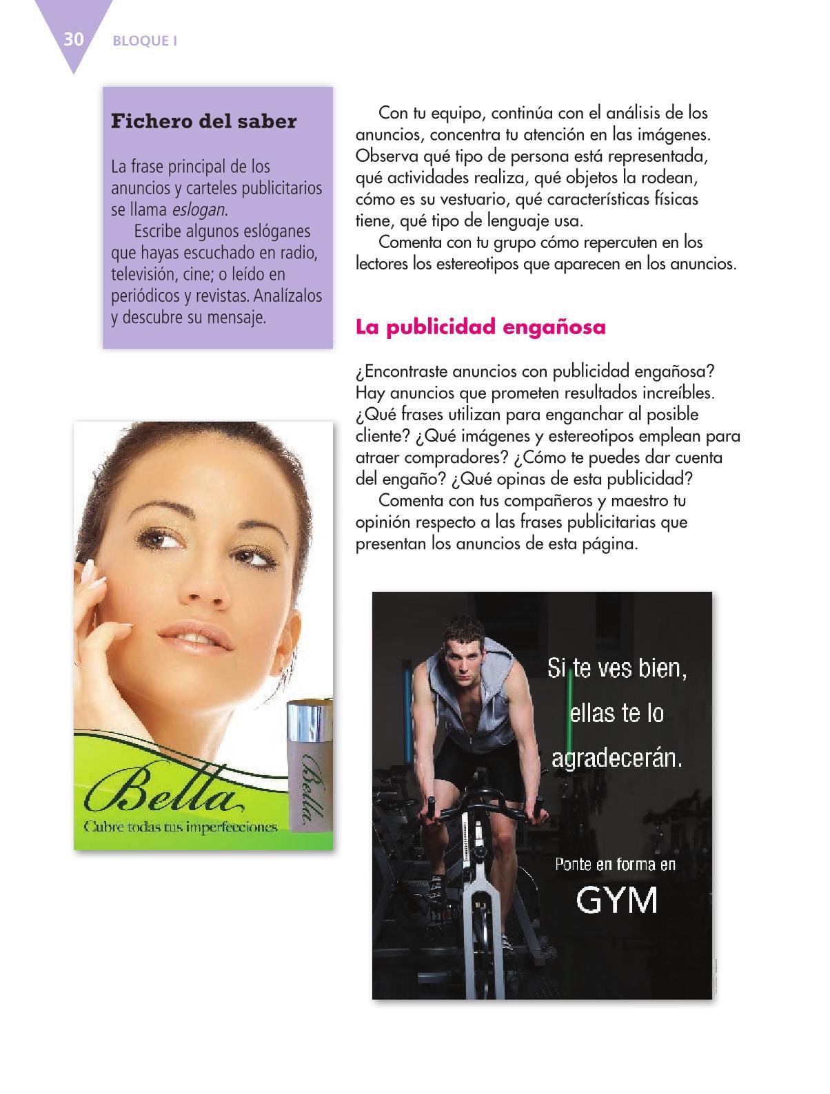 Español Libro para el alumnoquintoPagina 30