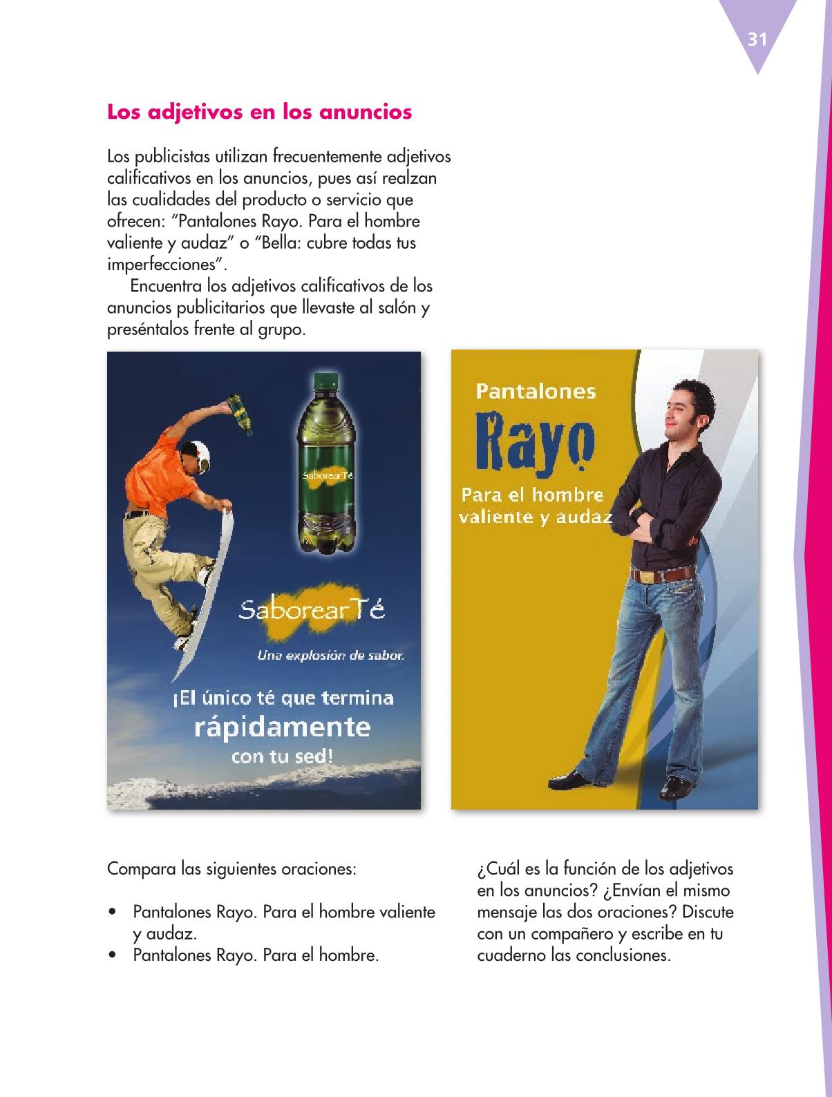 Español Libro para el alumnoquintoPagina 31