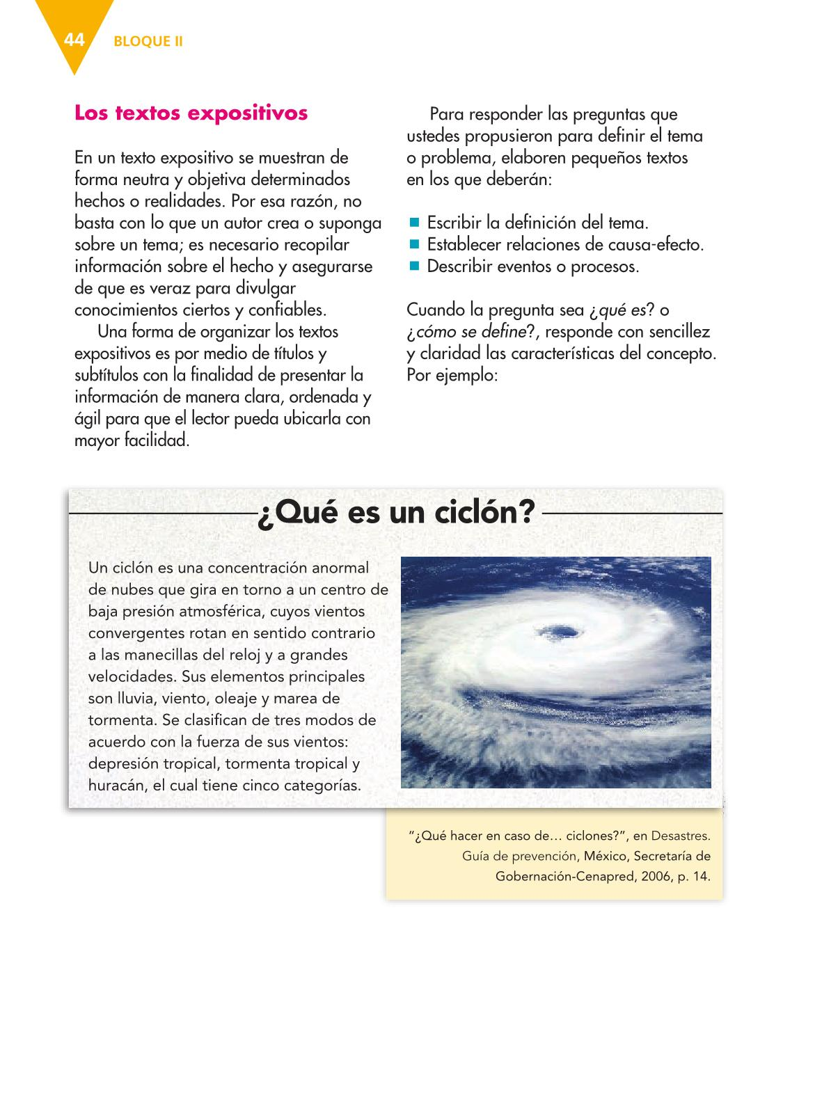 Español Libro para el alumnoquintoPagina 44