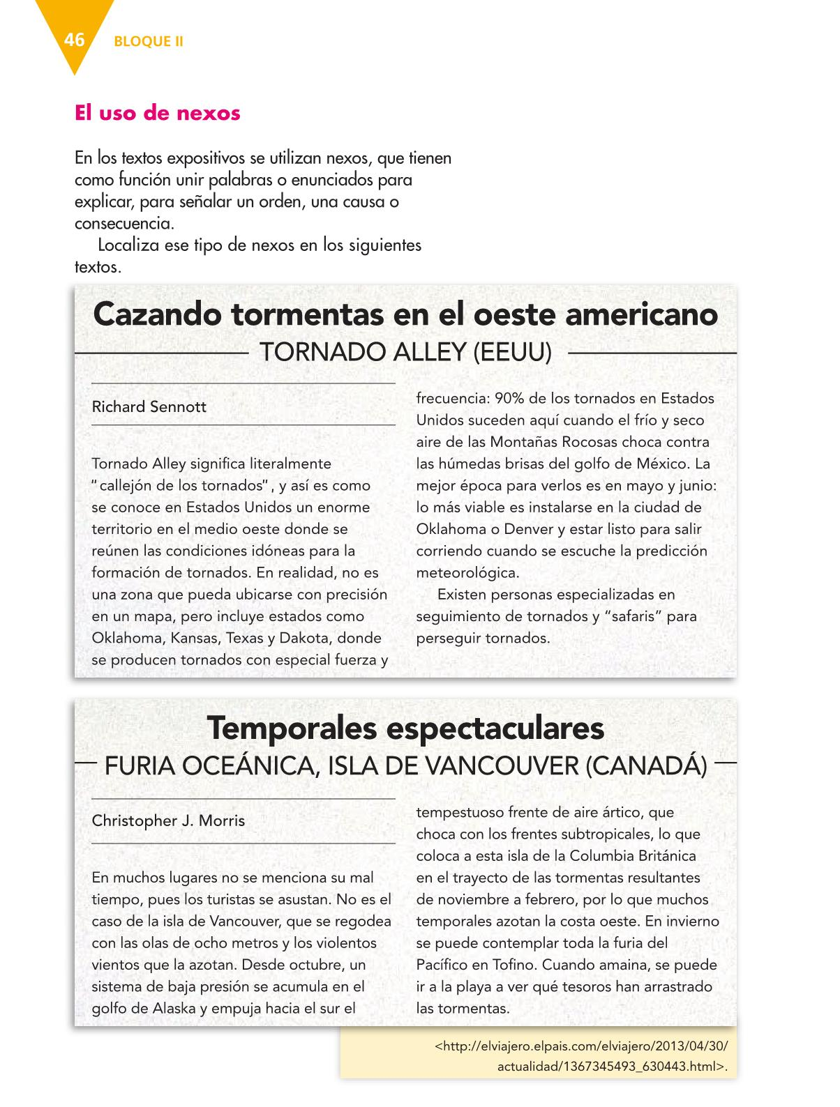 Español Libro para el alumnoquintoPagina 46
