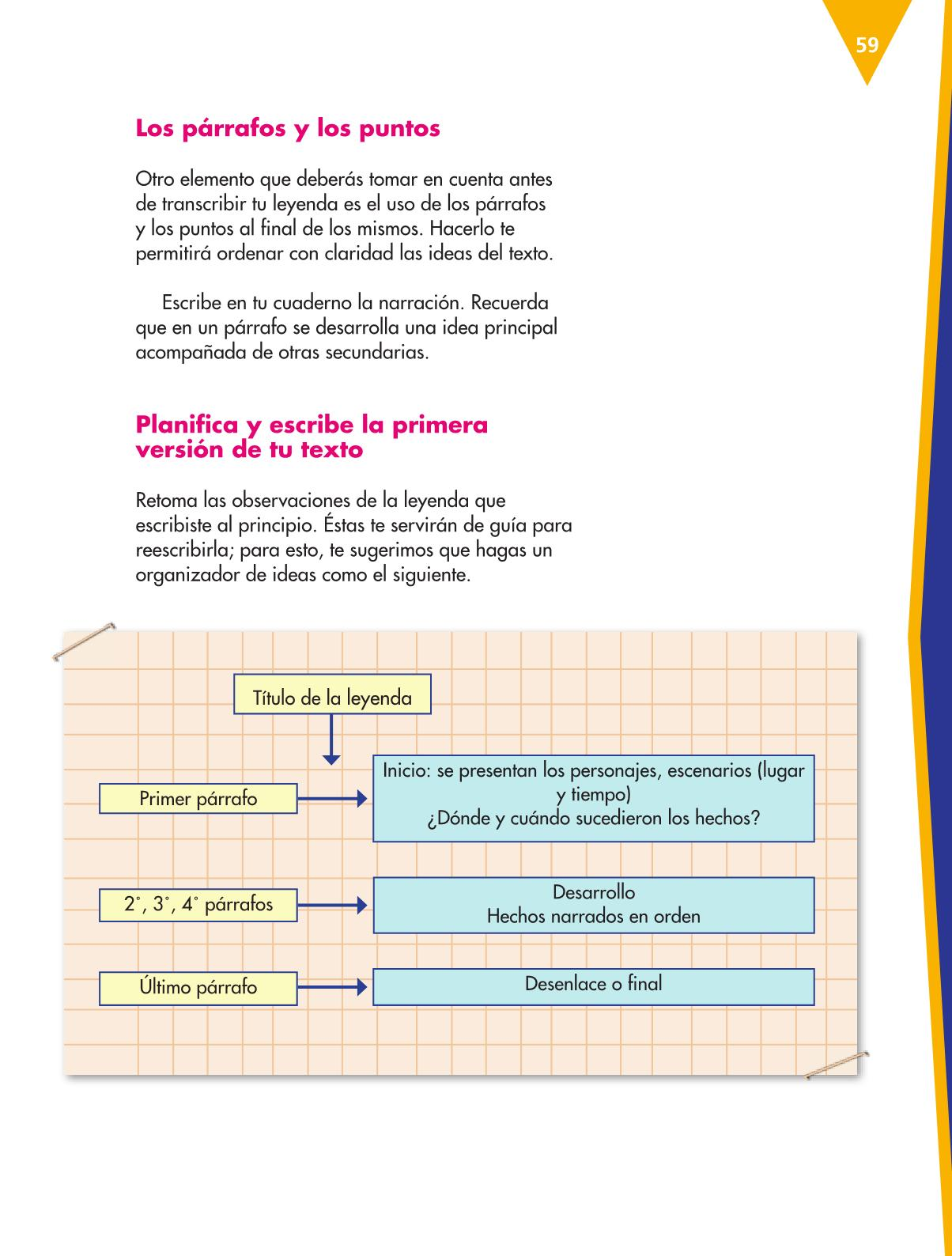 Español Libro para el alumnoquintoPagina 59