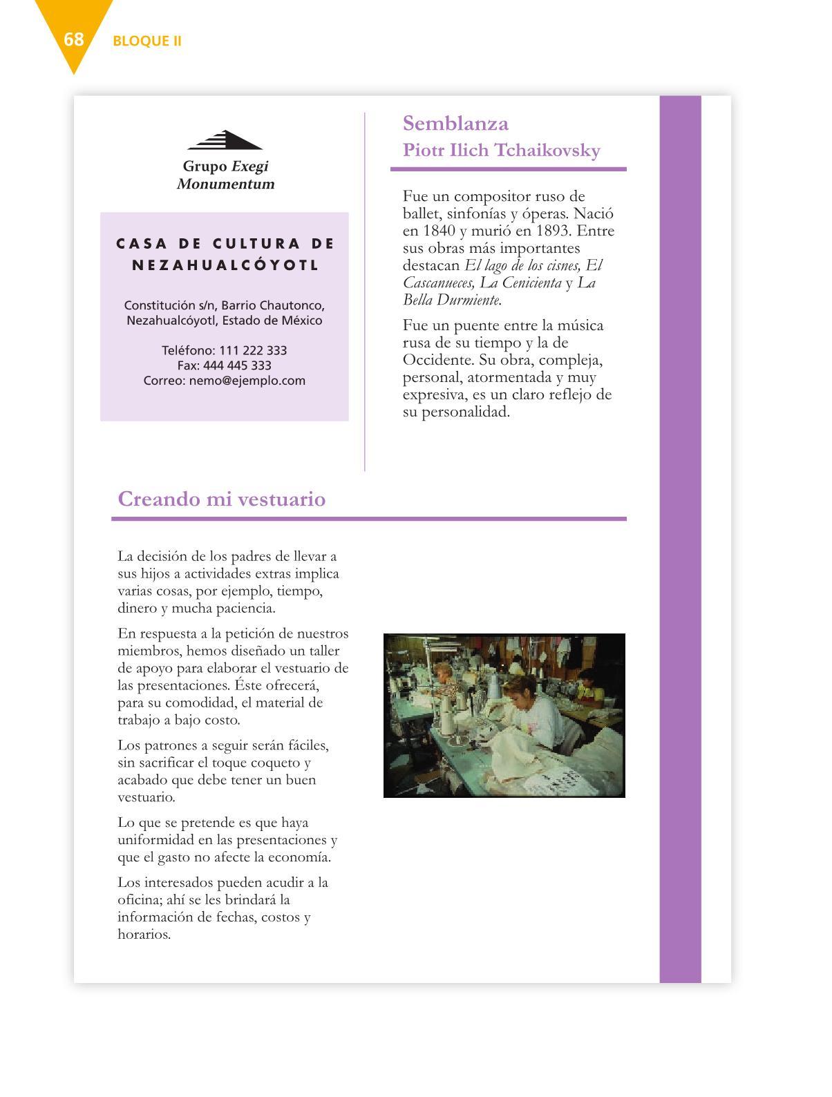 Español Libro para el alumnoquintoPagina 68