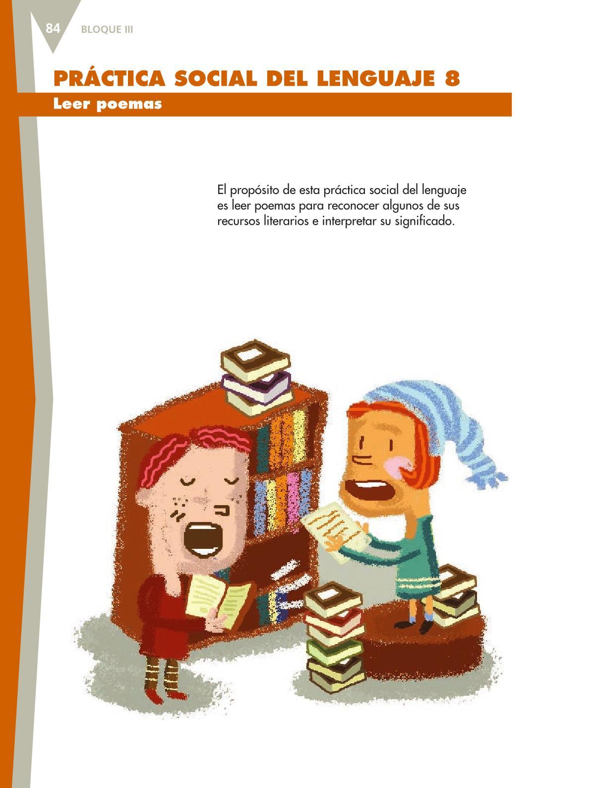 Español Libro para el alumnoquintoPagina 84