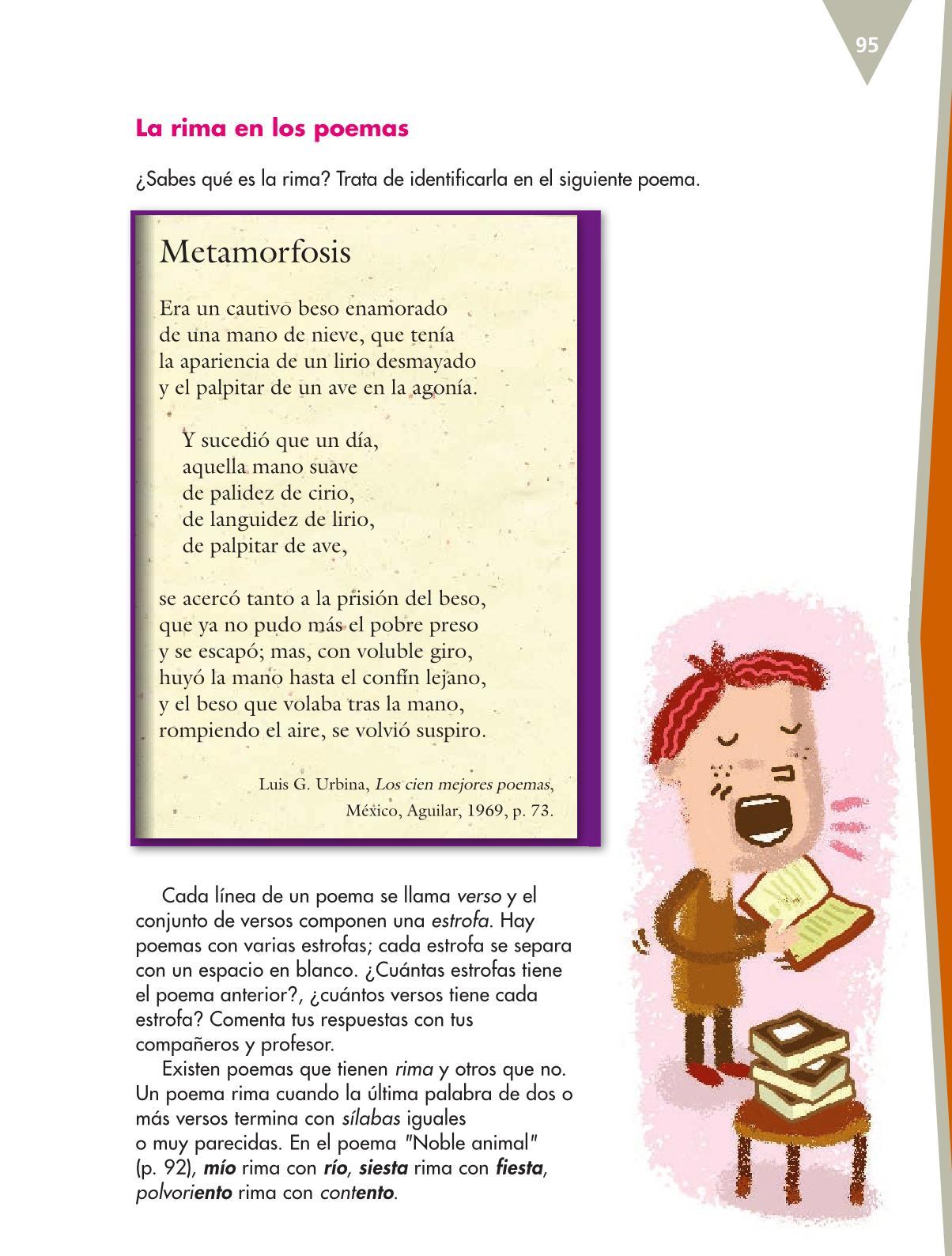 Español Libro para el alumnoquintoPagina 95