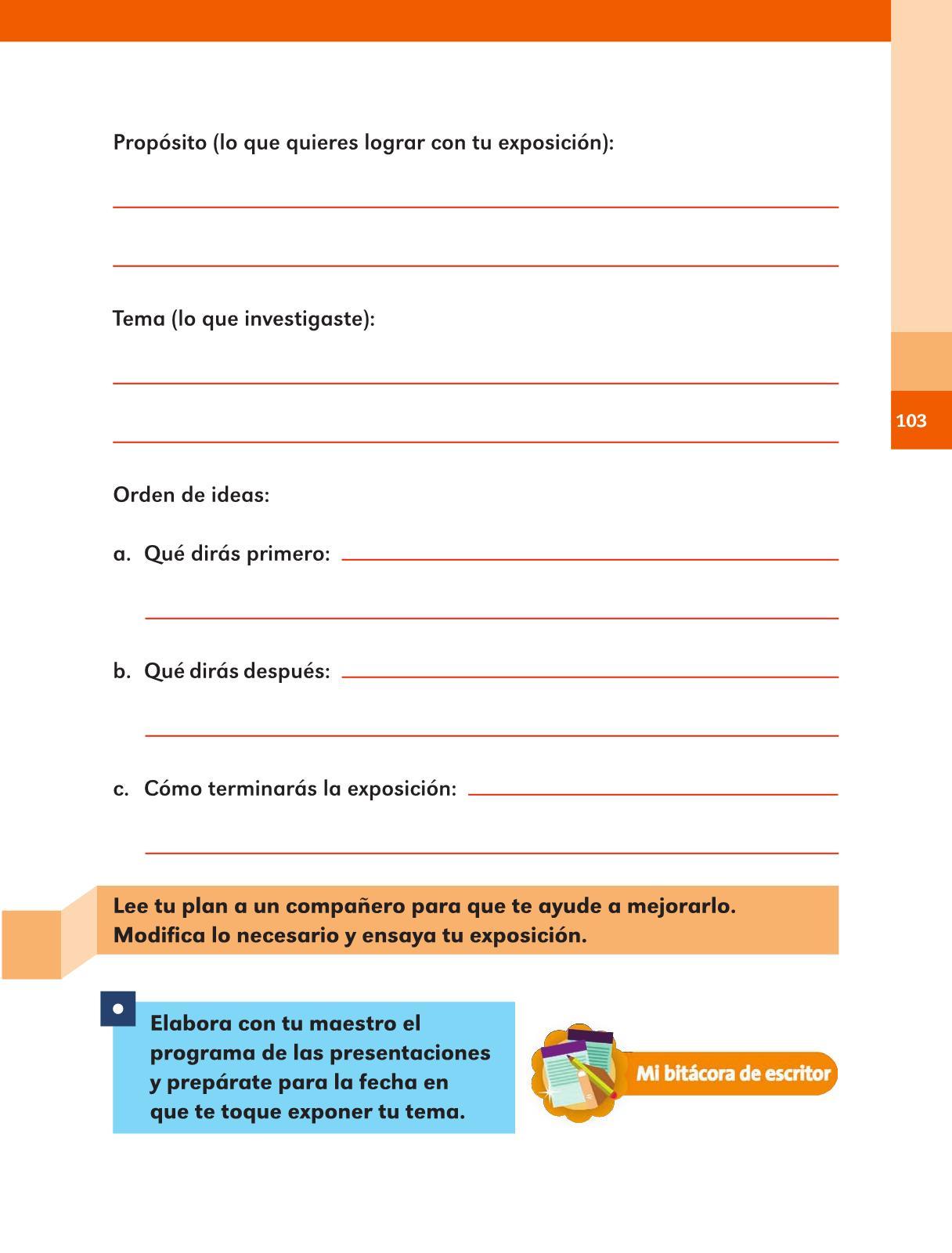 Español Libro para el alumno Segundo grado 2016-2017