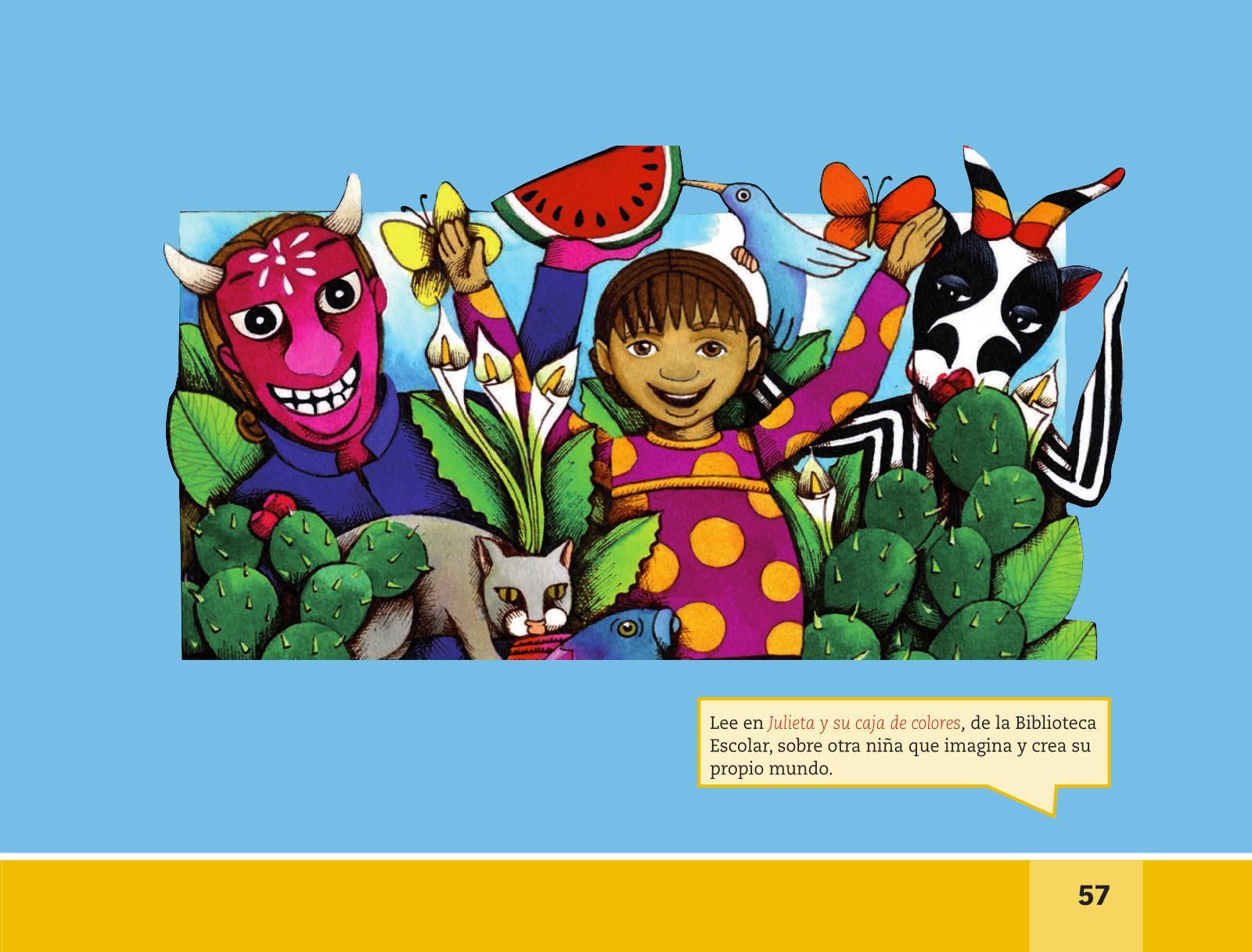 Español Lectura Segundo grado 2016-2017 – Libro Online | Libros de ...