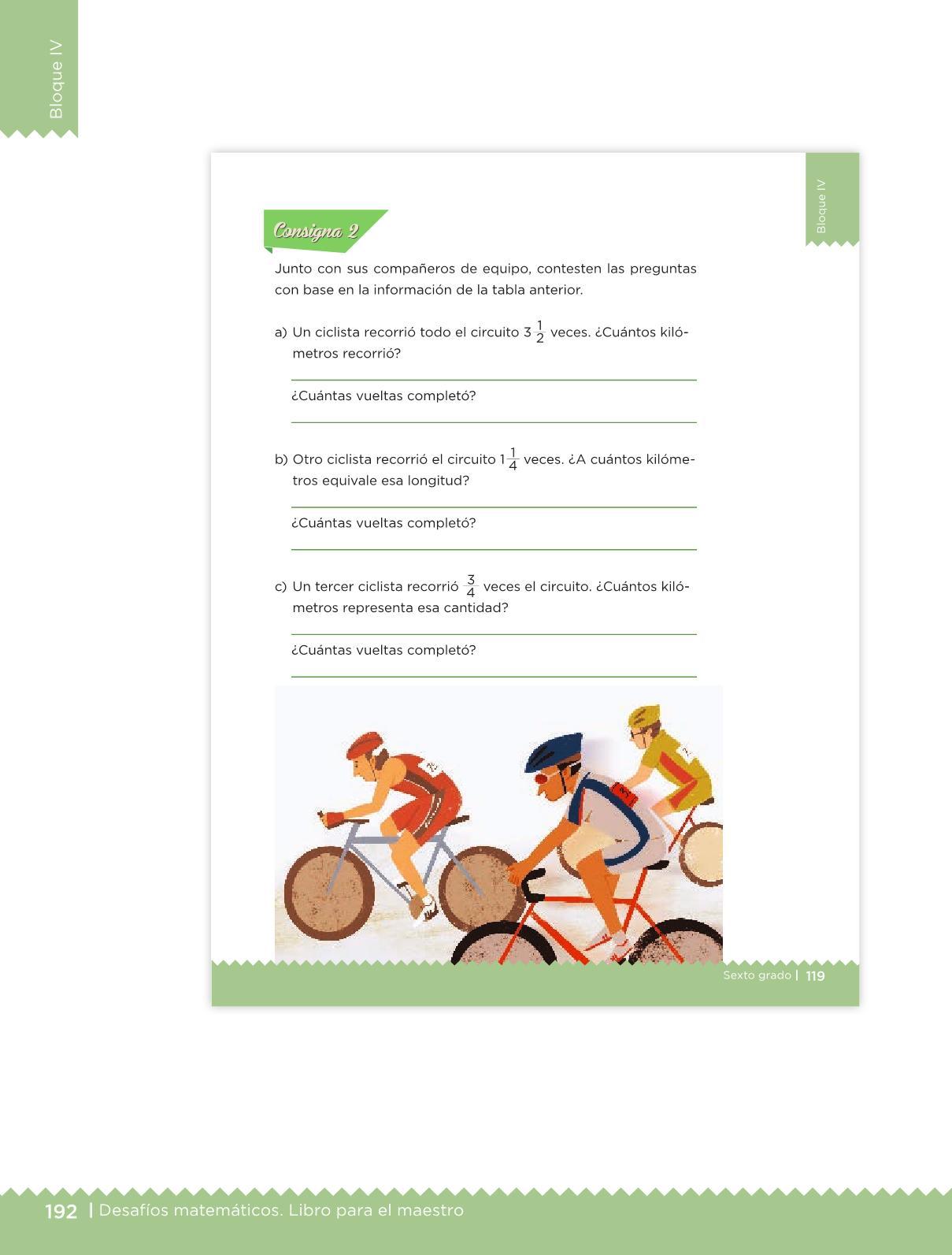 Desafíos Matemáticos libro para el maestro Sexto grado