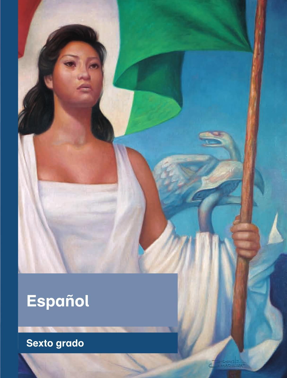 Español Libro para el alumnosextoPagina 1