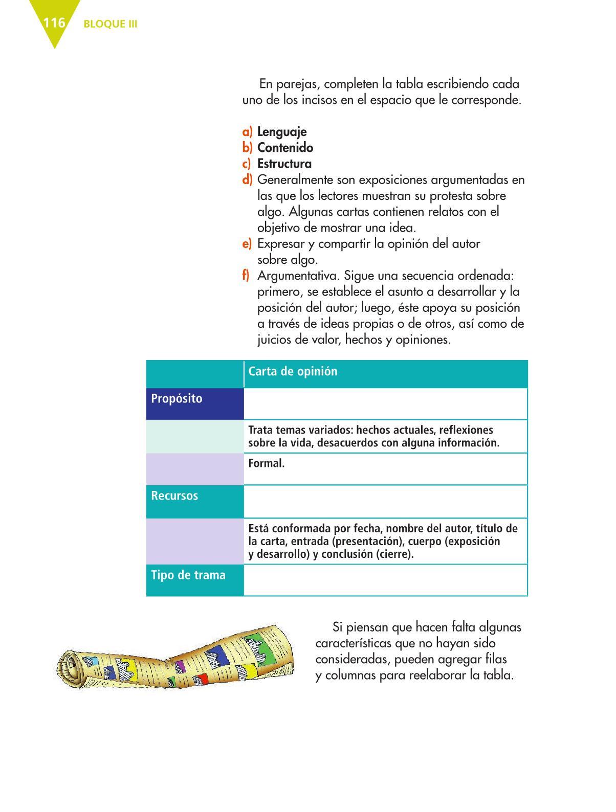 Español Sexto grado 2016-2017 - Online - Página 116 de 184 ...
