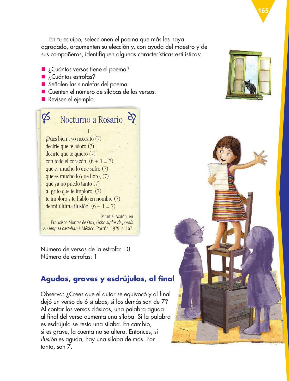 Español Sexto grado 2016-2017 – Online | Libros de Texto