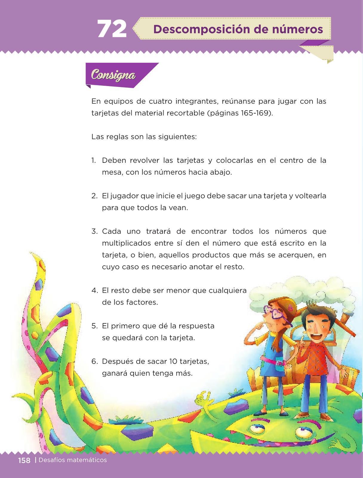 Desafíos Matemáticos Libro para el alumno Tercer grado