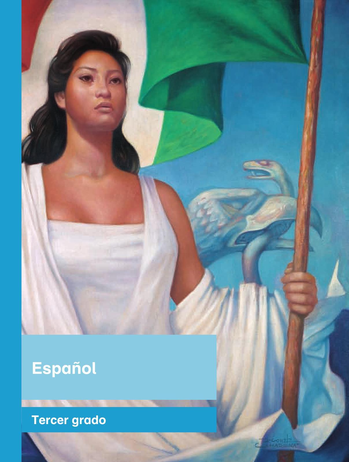 Español Libro para el alumnoterceroPagina 1
