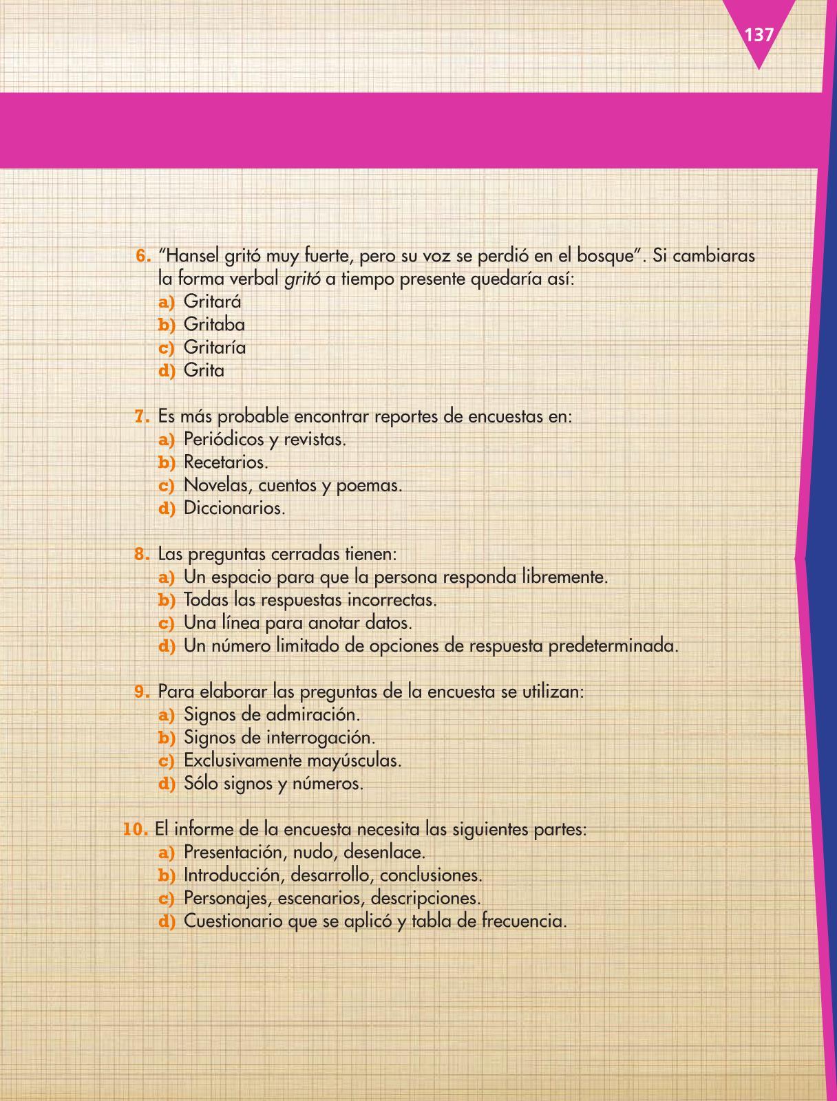 Español Tercer grado 2016-2017 – Online | Libros de Texto