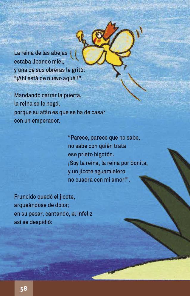 Español libro de lectura Cuarto grado 2017-2018 - Página
