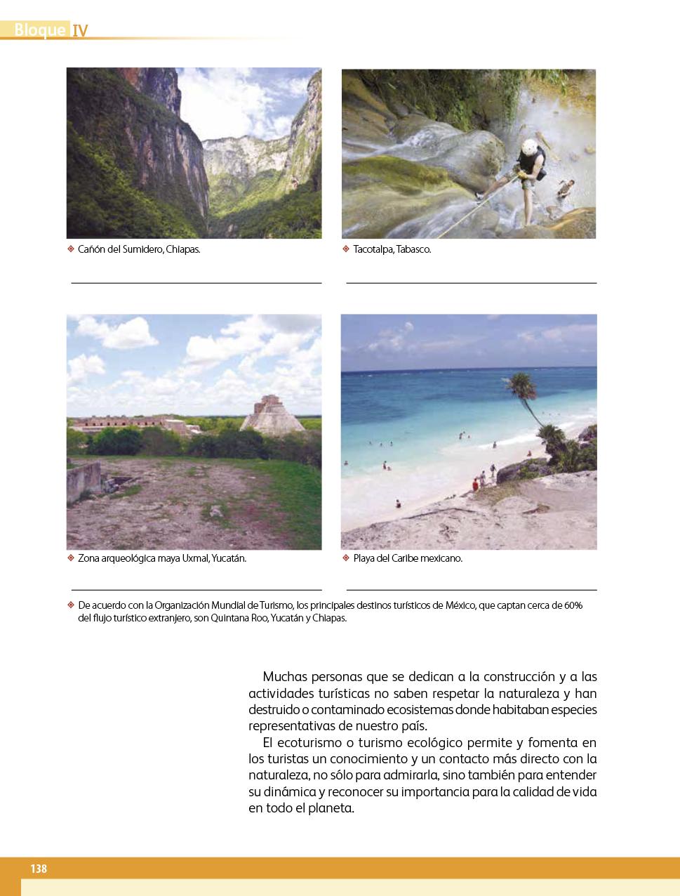 Geografía Cuarto grado 2017-2018 - Página 138 - Libros de ...