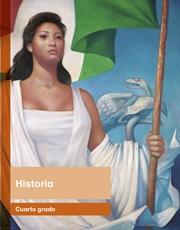 Libro Historia cuarto grado Página 1