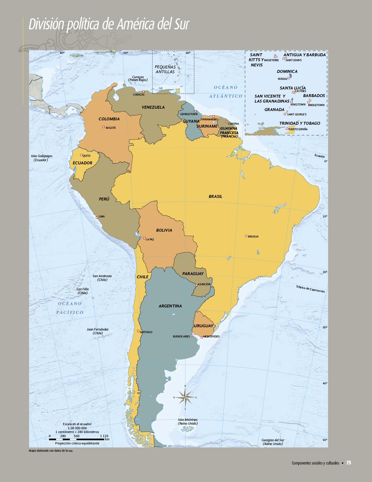 Atlas De Geograf A Del Mundo Quinto Grado 2017 2018
