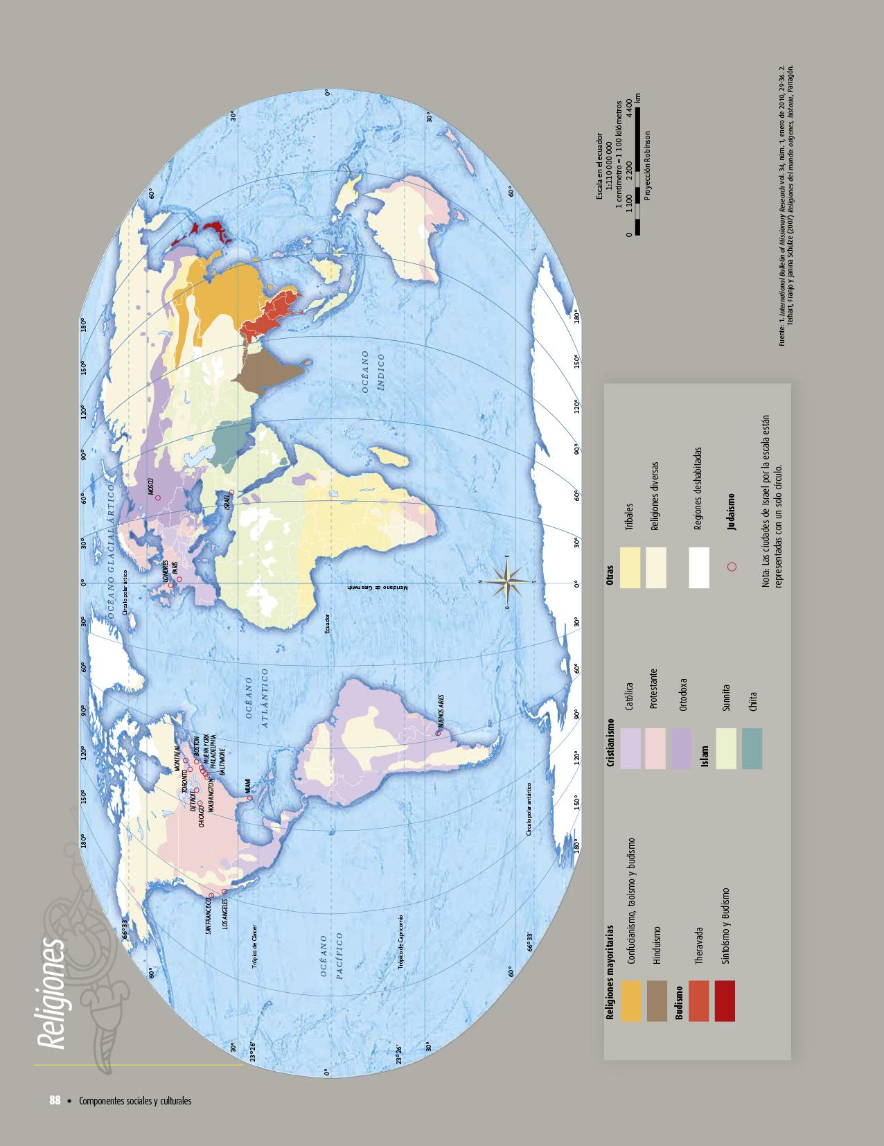 Atlas De Geografia Del Mundo Quinto Grado 2017 2018 Pagina 88 De 122 Libros De Texto Online