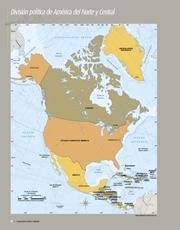 Libro Atlas de geografia del mundo quinto grado Página 74