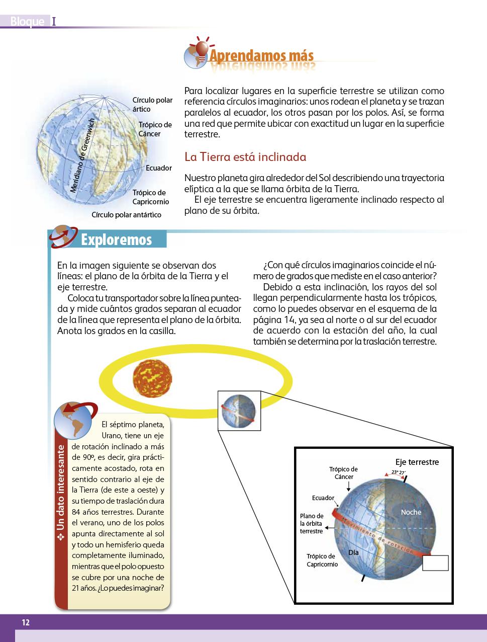 Geografía quinto grado 2017-2018 - Página 12 - Libros de ...
