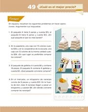 Libro Desafíos Matemáticos sexto grado Página 101