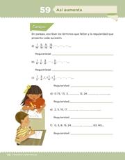 Libro Desafíos Matemáticos sexto grado Página 116
