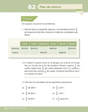 Libro Desafíos Matemáticos sexto grado Página 120