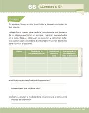 Libro Desafíos Matemáticos sexto grado Página 125