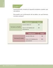 Libro Desafíos Matemáticos sexto grado Página 132