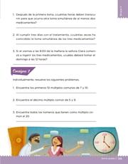 Libro Desafíos Matemáticos sexto grado Página 135