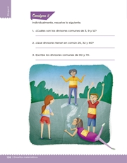 Libro Desafíos Matemáticos sexto grado Página 138