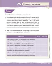 Libro Desafíos Matemáticos sexto grado Página 139