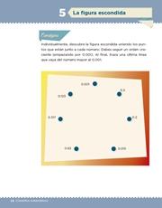 Libro Desafíos Matemáticos sexto grado Página 14