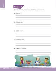 Libro Desafíos Matemáticos sexto grado Página 148