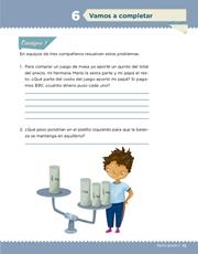Libro Desafíos Matemáticos sexto grado Página 15