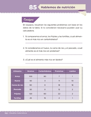 Libro Desafíos Matemáticos sexto grado Página 152