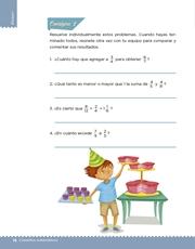 Libro Desafíos Matemáticos sexto grado Página 16