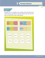 Libro Desafíos Matemáticos sexto grado Página 17