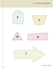 Libro Desafíos Matemáticos sexto grado Página 175