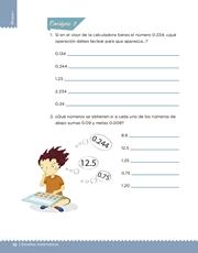 Libro Desafíos Matemáticos sexto grado Página 18