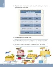 Libro Desafíos Matemáticos sexto grado Página 42