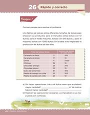 Libro Desafíos Matemáticos sexto grado Página 48