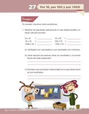 Libro Desafíos Matemáticos sexto grado Página 50
