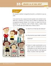 Libro Desafíos Matemáticos sexto grado Página 72