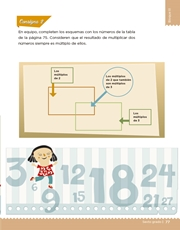 Libro Desafíos Matemáticos sexto grado Página 77
